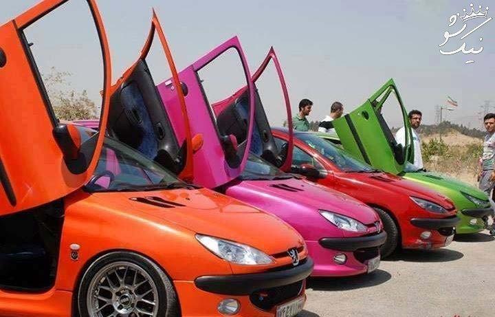بهترین پژو 206 های اسپرت در ایران را بشناسید
