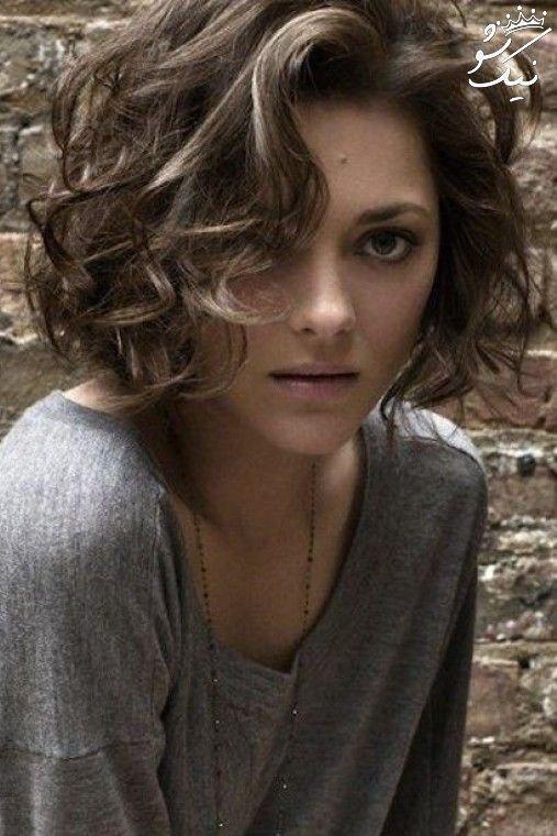 مدل مو فر درشت باز برای خانم های خوش سلیقه