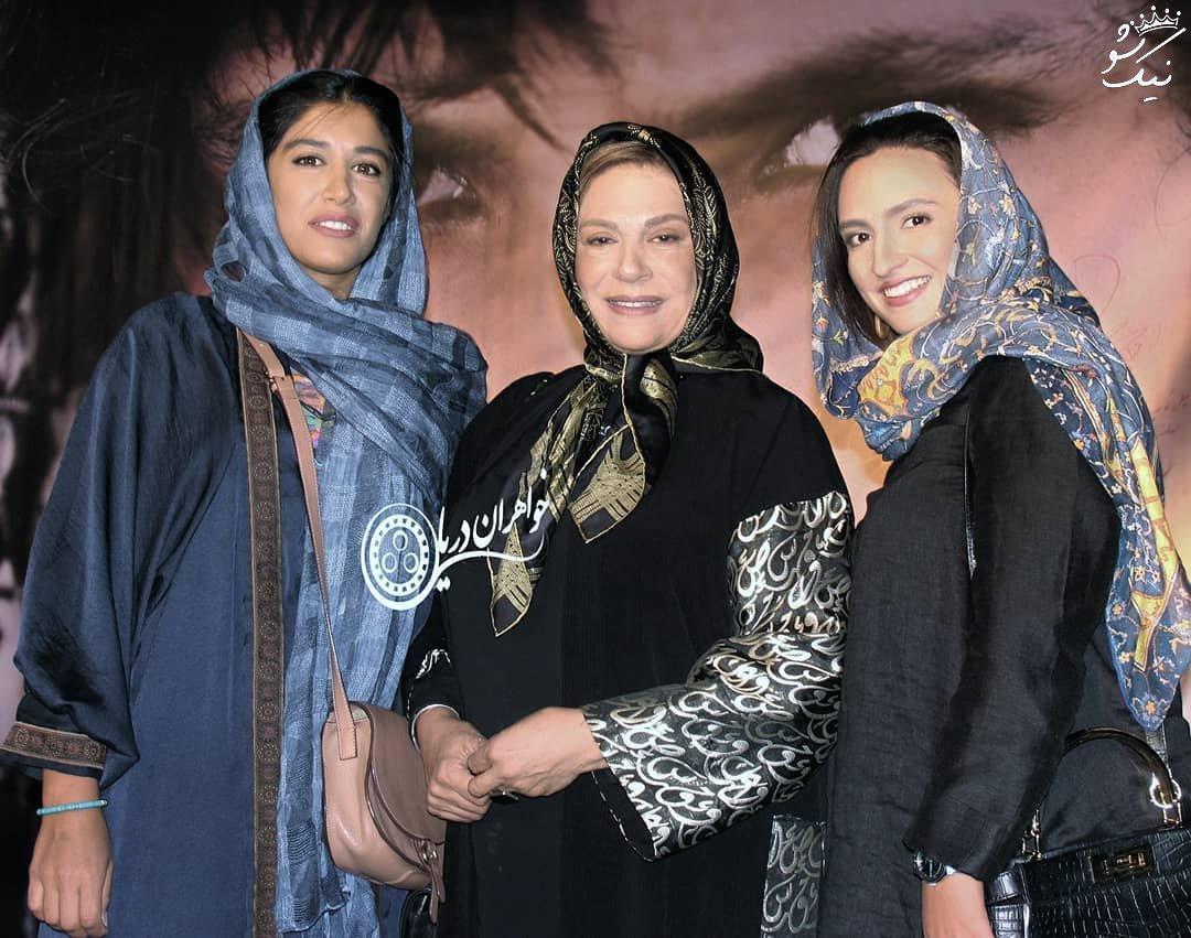 عکسهای آزاده اسماعیل خانی دختر گوهر خیراندیش