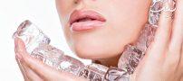 معجزه یخ برای زیبایی و لطافت پوست صورت