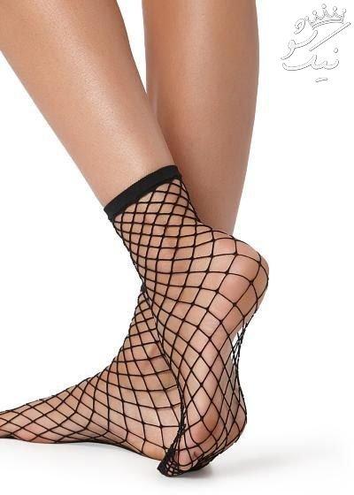 جوراب لانه زنبوی مد جذاب دخترانه امسال