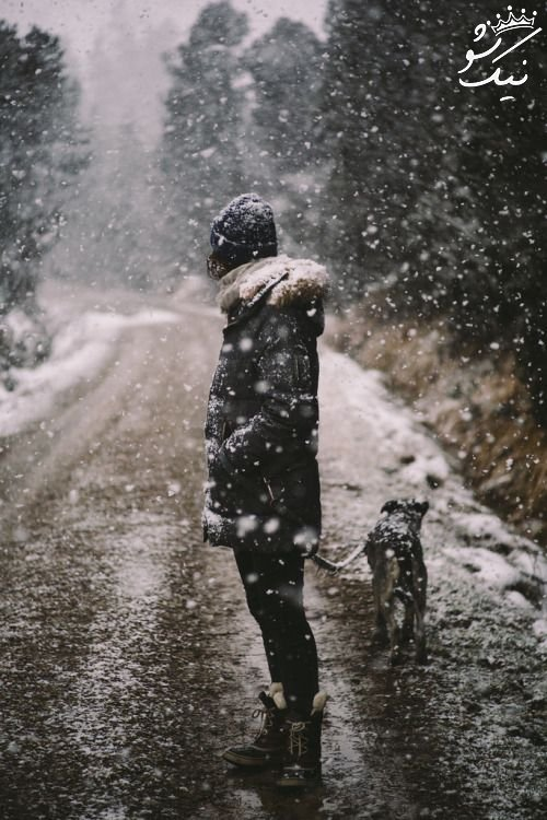 عکس پروفایل زمستانی دخترانه فانتزی خاص