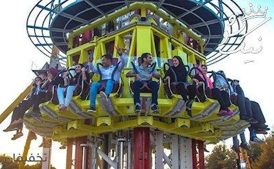 سقوط آزاد پارک ارم | سقوط از 85 متری با سرعت 100 کیلومتر
