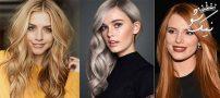 مدهای رنگ مو در ۲۰۱۹ | بلوطی ، بلوند خاکستری ، عسلی