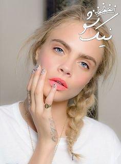 آرایش لب نارنجی مرجانی | رژلب مرجانی مد سال 2019