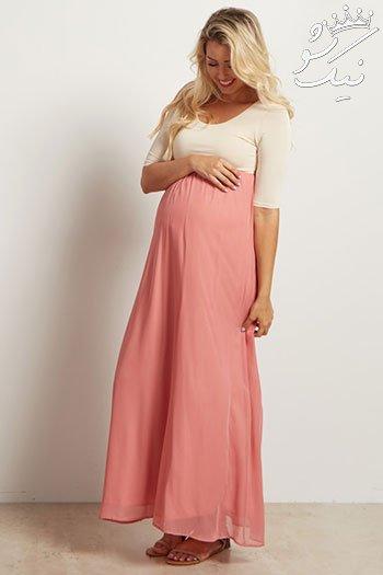 مدل لباس راحتی حاملگی | لباس بارداری شیک