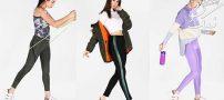 مدل شلوار لگ دخترانه جذاب و اسپرت ۲۰۱۹