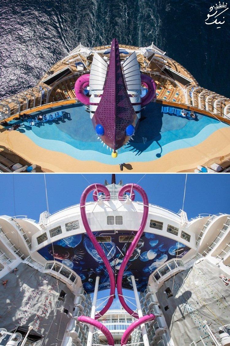 بزرگ ترین کشتی تفریحی جهان | شهری روی دریا