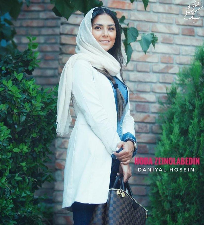بهترین عکسها از استایل هدی زین العابدین