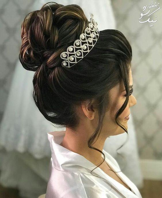مدل موی عروس 2019 | بهترین شینیون های مد روز