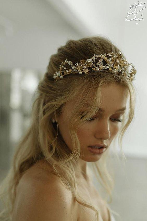 تاج عروس مدل ملکه ای 2020
