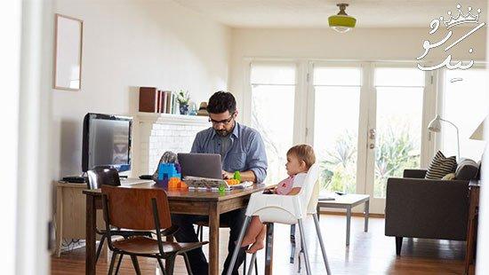 چطور در شغل دورکاری بهره روی را افزایش دهیم؟