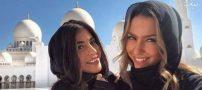 گشت و گذار همسران زیباروی رئالی ها در ابوظبی