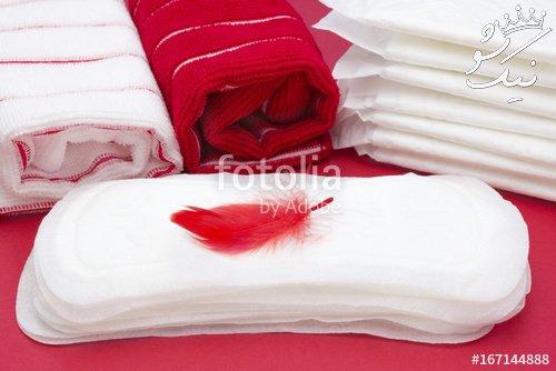 علت روشن بودن رنگ خون پریود
