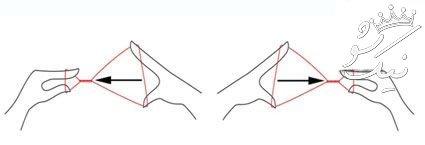 آموزش قدم به قدم بند انداختن صورت | دست و پا