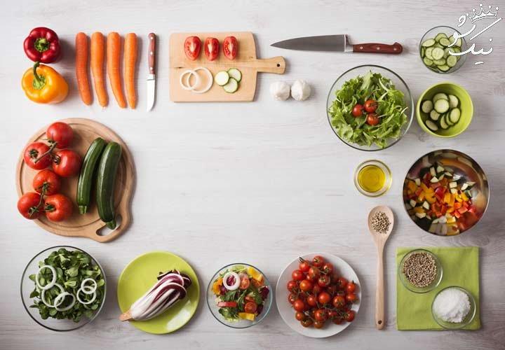 جدول برنامه غذایی هفتگی | برنامه غذایی سالم
