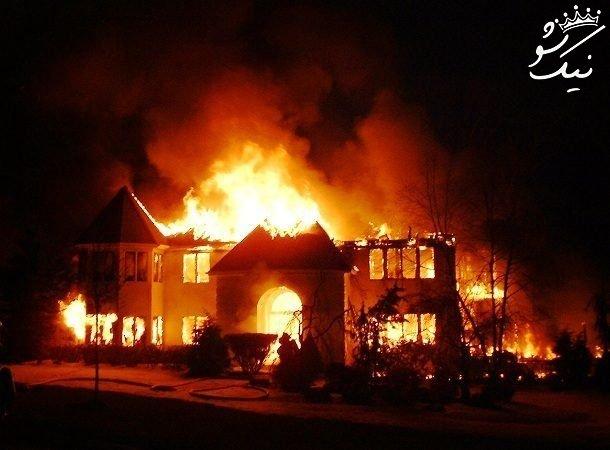 تعبیر خواب آتش زدن | آتش گرفتن خانه | آتش گرفتن انسان