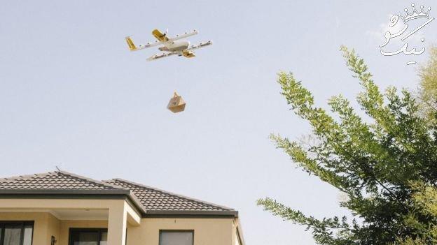 تحویل بسته ها با پهپاد در استرالیا