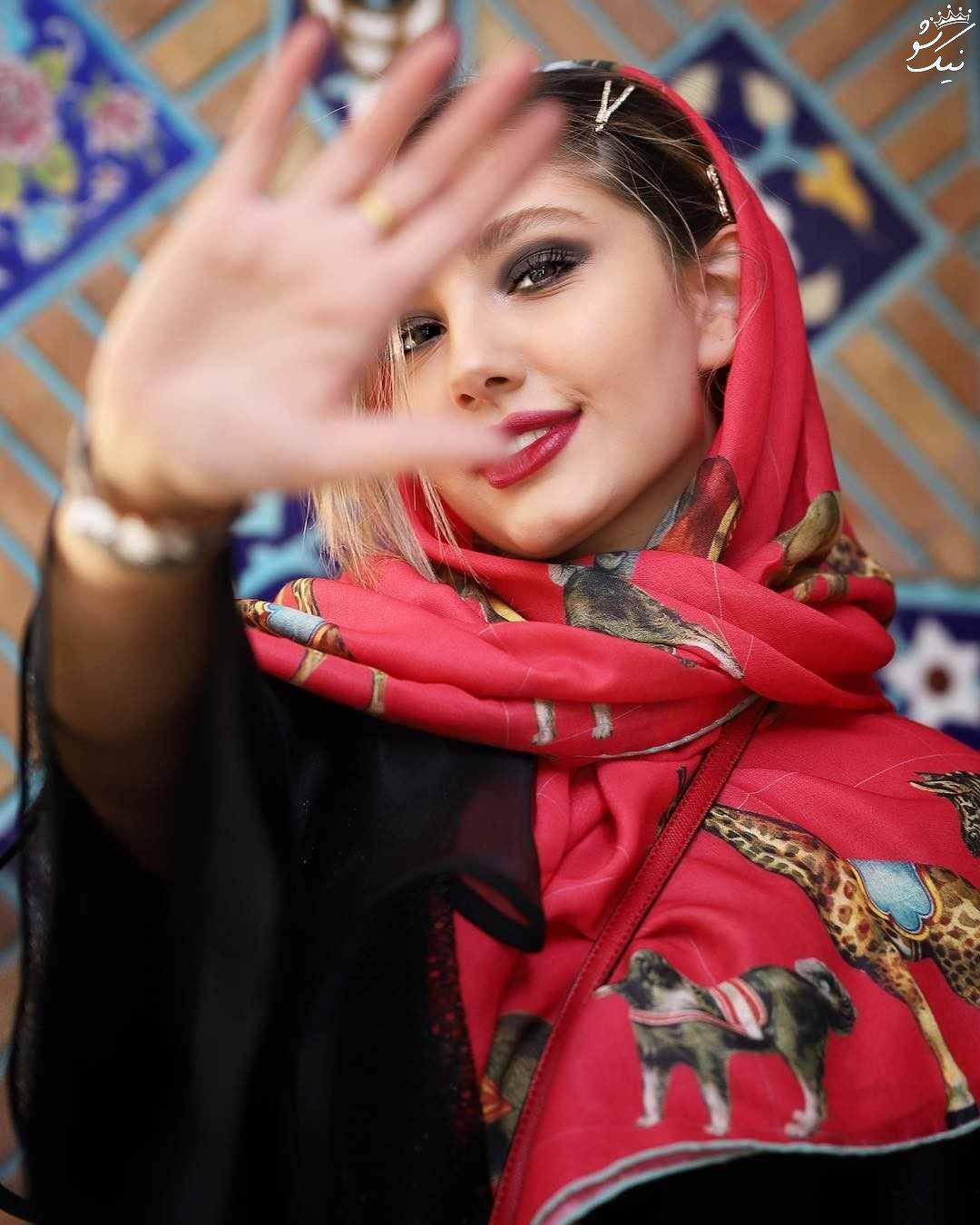 تیپ دخترانه به سبک مارال شاکر حسینی   اینستاگرام
