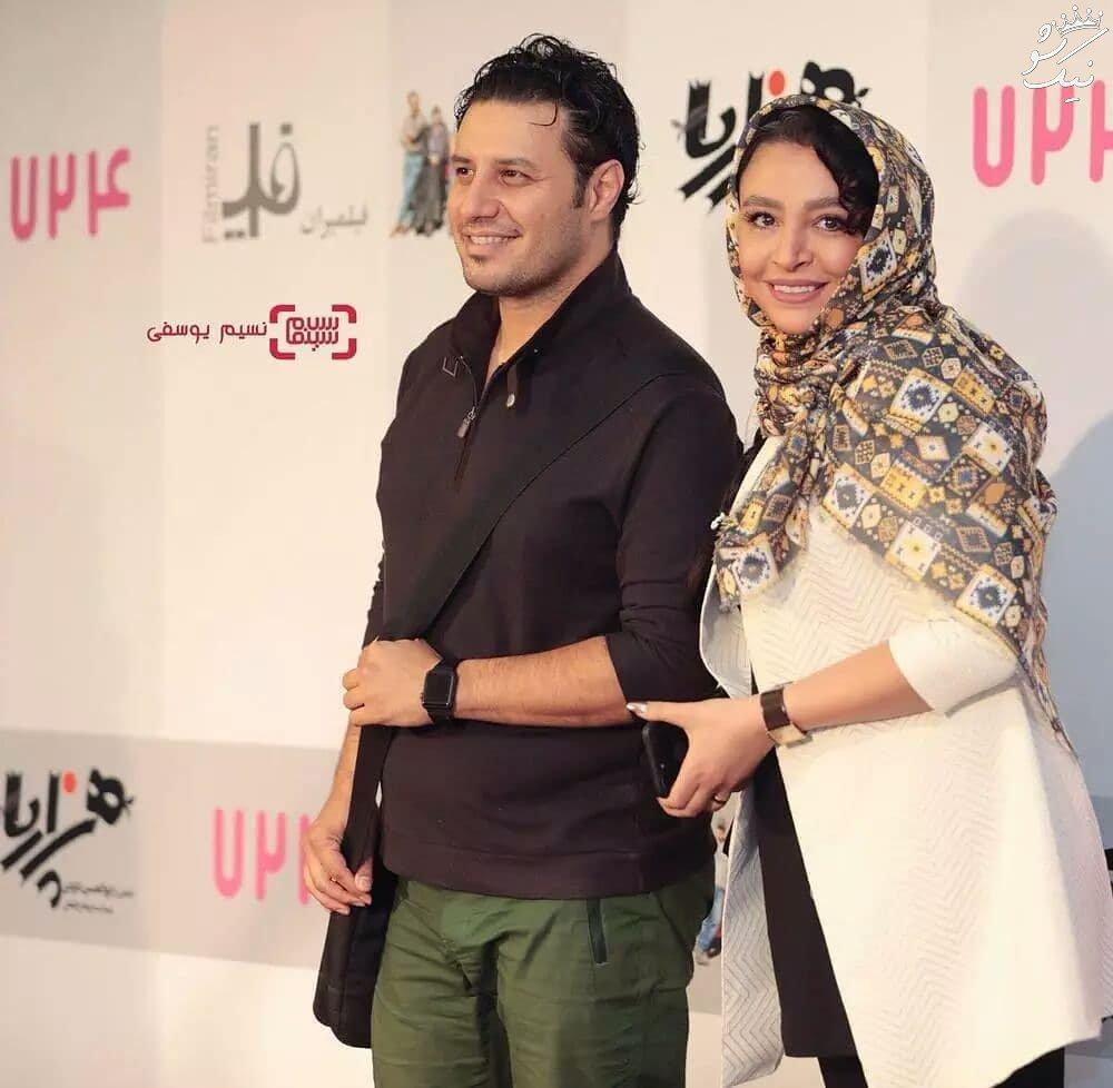 همراه با جواد عزتی و مهلقا باقری در اینستاگرام