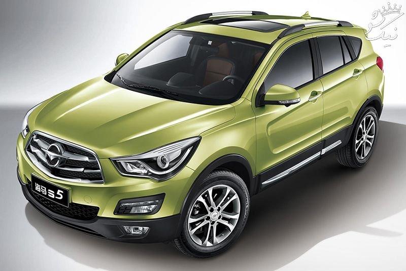 آرم ماشین های چینی موجود در ایران