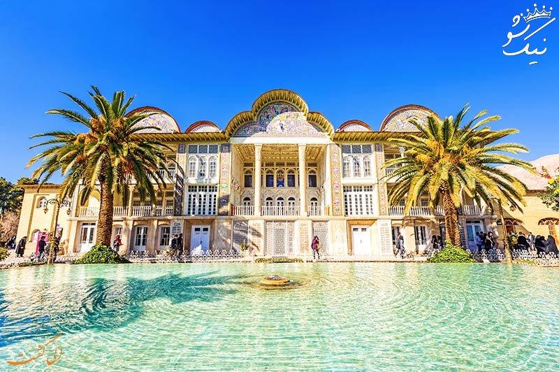 راهنمای سفر به باغ نارنجستان قوام در شیراز