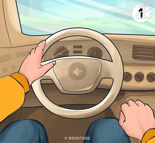 شخصیت شناسی جالب چطور گرفتن فرمان ماشین