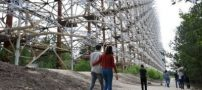 سلفی در چرنوبیل آلودهترین منطقه جهان