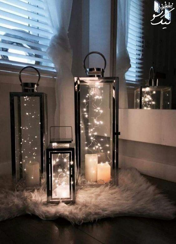 Laterne Dekorieren Lichterkette :  ~ Watch28wear.com Haus und Dekorationen