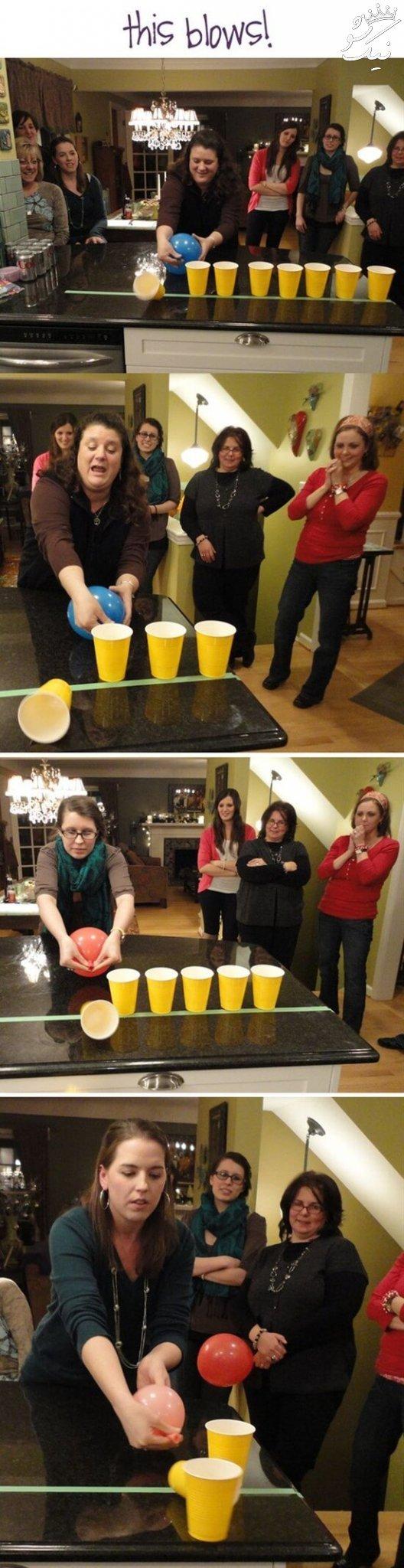 ایده بازی و مسابقه برای مهمانی ، مراسم و جشن