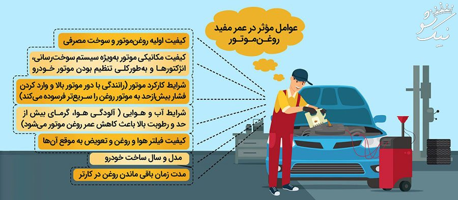 نکات مهم که هنگام تعویض روغن خودرو باید توجه کنید