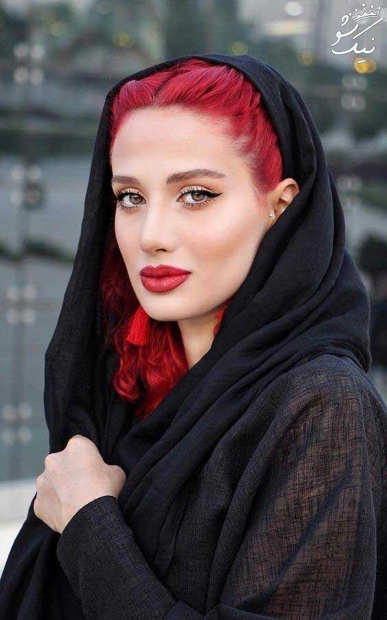 مدل مو زیر مقنعه برای دانشگاه | مدل جلوی موی دخترانه