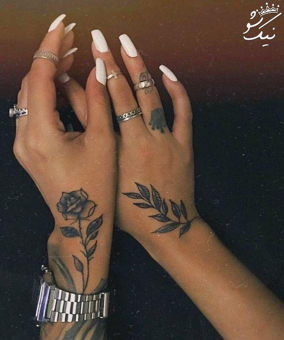 خاص ترین طرح های تاتو و خالکوبی دخترانه   پا ، دست و بازو