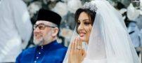 ازدواج سلطان ۵۰ ساله مالزی و ریحانا اوکانا پترو مدل جوان روسیه