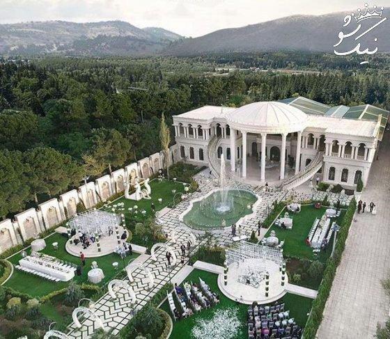 مراسم عروسی VIP و مجلل 600 میلیون تومان!
