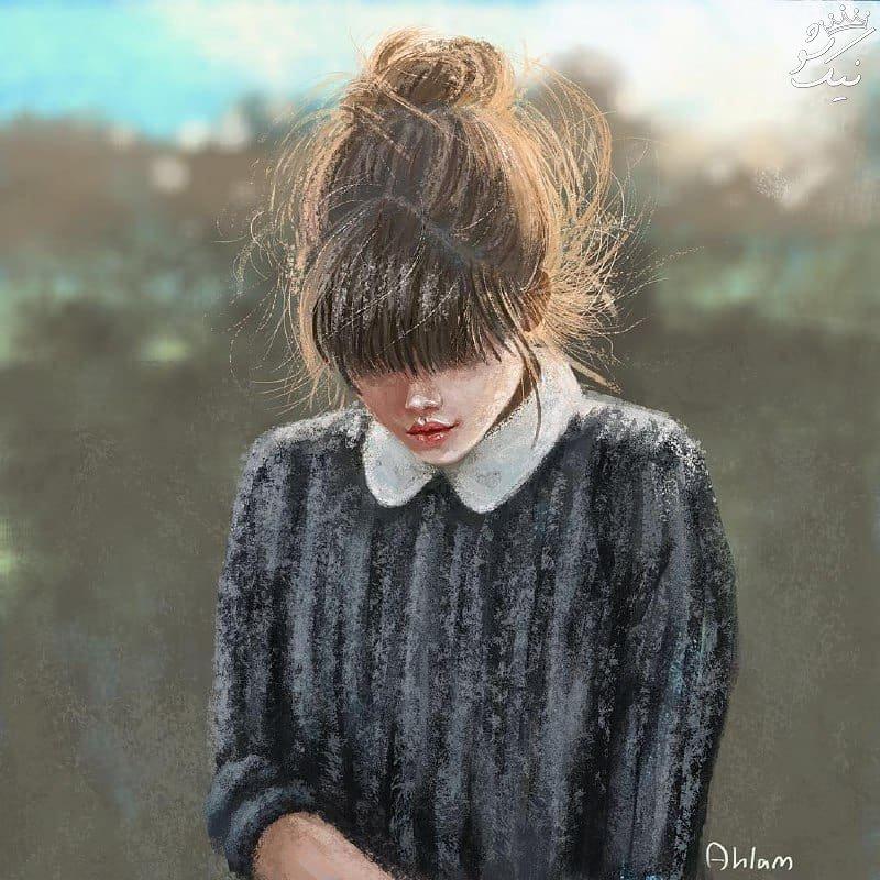 پروفایل خاص دخترونه | عاشقونه احساسی و غمگین