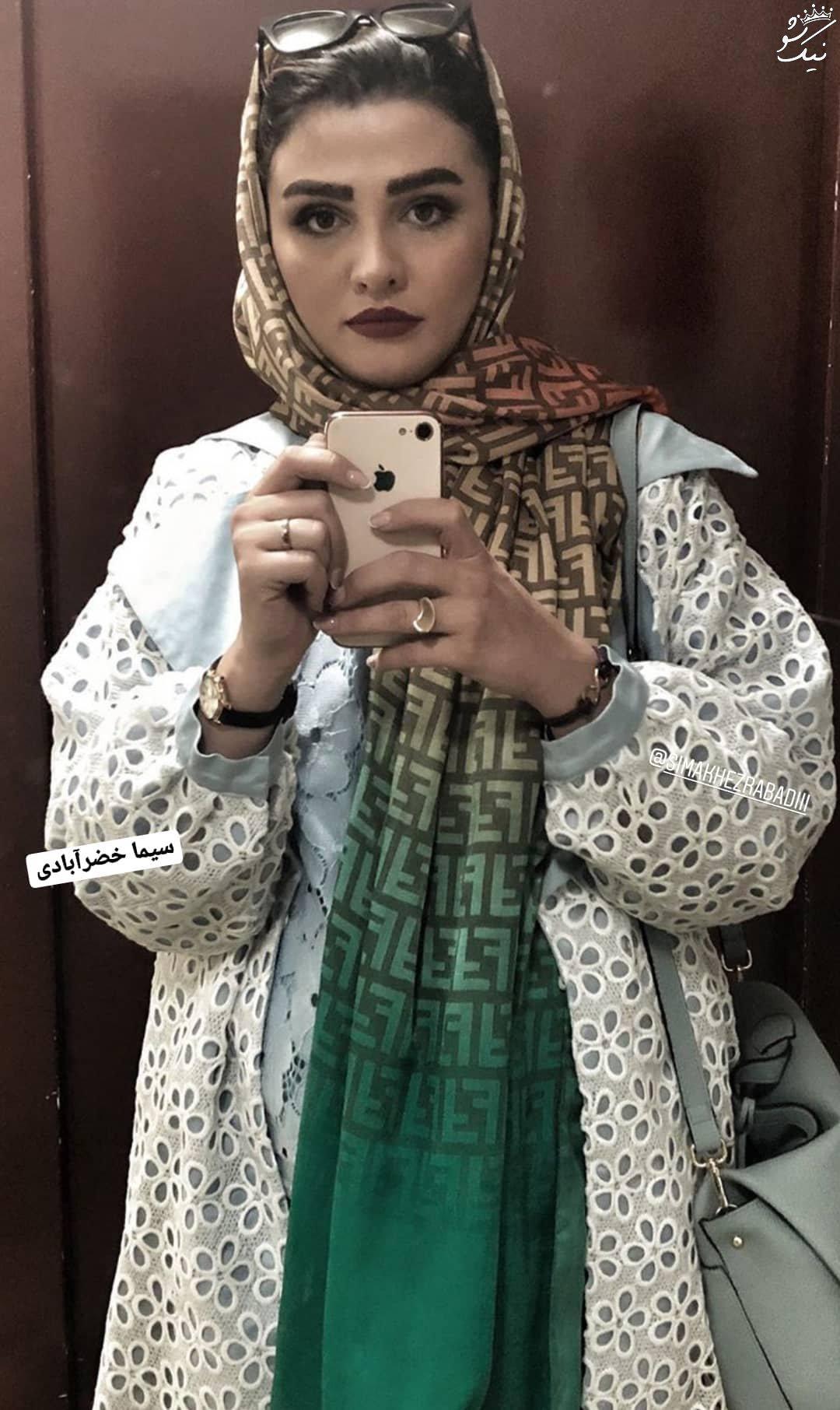 عکسهای جدید سیما خضرآبادی در اینستاگرام