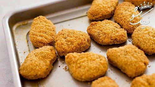 بهترین روش تهیه ناگت مرغ | غذای محبوب لاکچری