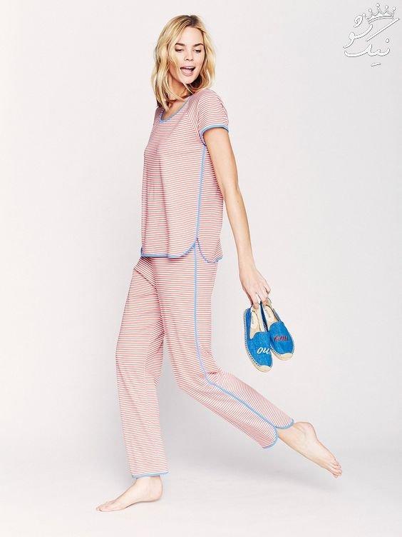 لباس خواب زنانه ساتن | مدل های روز خارجی 2020