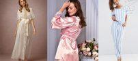 لباس خواب زنانه ساتن | مدل های روز خارجی ۲۰۱۹