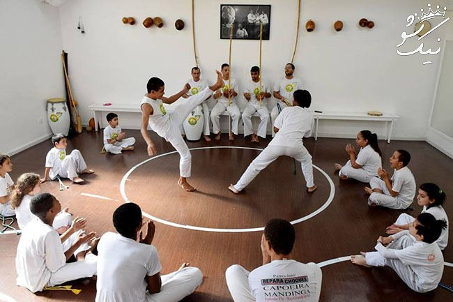 کاپوئرا Capoeira ، ورزش رزمی همراه با رقص و موزیک