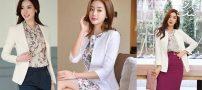 مدل کت تک دخترانه کره ای   ست کت و دامن کره ای ۲۰۱۹
