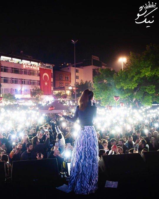 عکسهای اینستاگرام سیمگه خواننده محبوب ترک