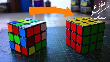آموزش حل مکعب روبیک pdf 3*3 تصویری