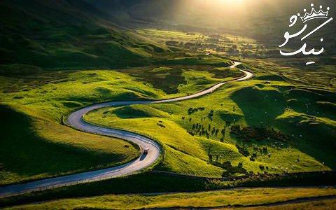 تعبیر خواب جاده | جاده سرسبز ، کوهستانی ، گل آلود