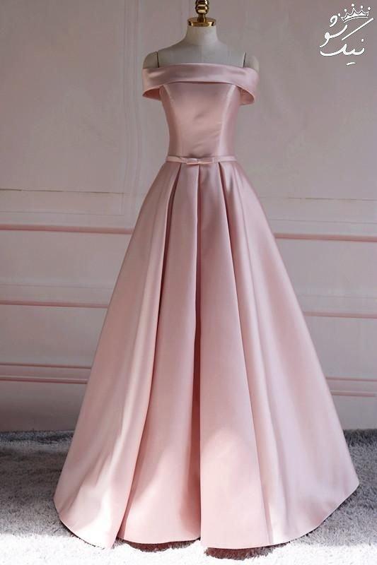لباس مجلسی دخترانه جوان بلند