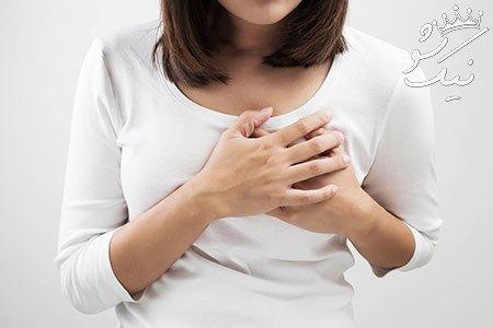 6 علت اصلی درد سینه خانم ها و راه های درمان آن