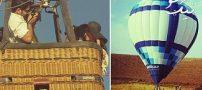 خواستگاری در بالن | مد جدید لاکچری بودن | بالن سواری دماوند