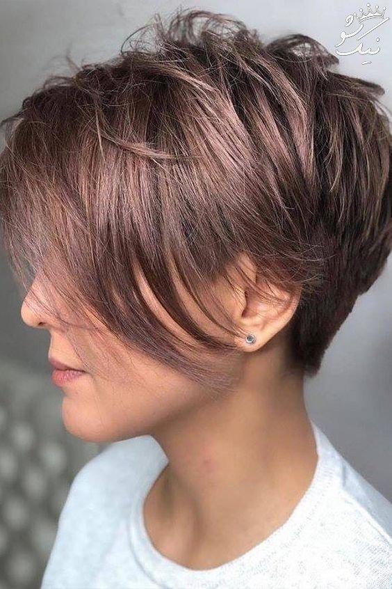 بهترین مدل موی کوتاه دخترانه مد سال 2019