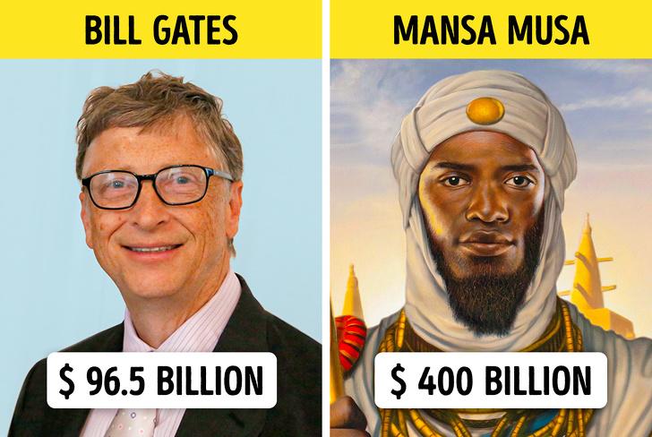 10 ثروتمندترین افراد در طول تاریخ | پولدارتر از جف بزوس